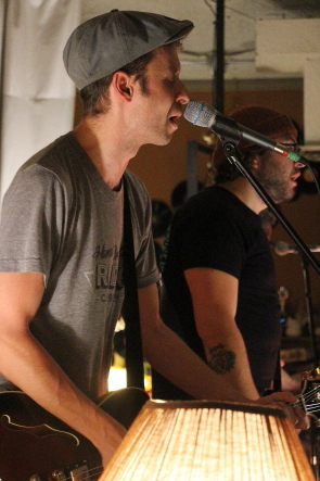 The River Jacks' Spencer Jo at the Owl Acoustic Lounge, Oct. 5. photo by Richard Amery